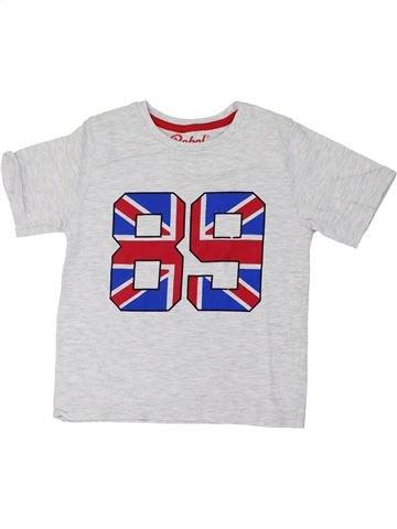 Camiseta de manga corta niño PRIMARK blanco 6 años verano #1274647_1
