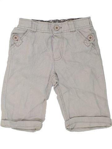 Short - Bermuda garçon MONSOON gris 6 mois été #1274834_1