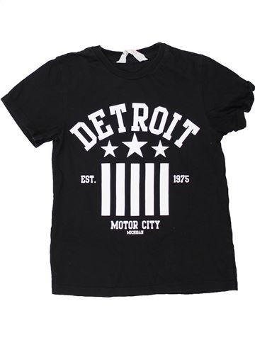 Camiseta de manga corta niño H&M negro 4 años verano #1274851_1