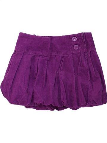 Falda niña BENETTON violeta 8 años invierno #1275056_1