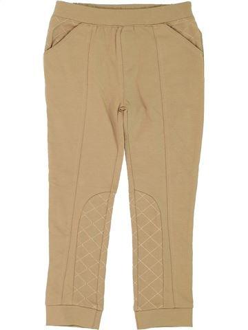 Pantalon fille MINI CLUB beige 6 ans hiver #1275197_1