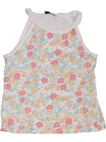 T-shirt sans manches fille GEORGE rose 6 ans été #1275247_1