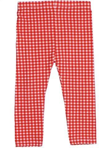 Legging niña TU rojo 2 años verano #1276074_1