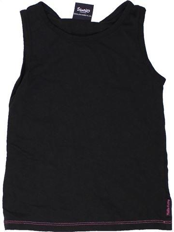 T-shirt sans manches fille GEORGE noir 5 ans été #1276159_1