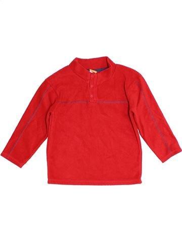 Pull garçon MINI MODE rouge 6 ans hiver #1276175_1
