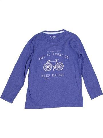 T-shirt manches longues garçon KIDS violet 10 ans hiver #1276180_1