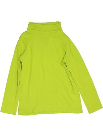 Camiseta de cuello alto niño C&A verde 6 años invierno #1276907_1