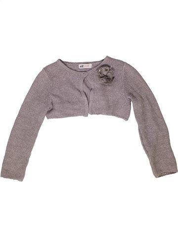 Bolero niña H&M gris 8 años invierno #1277555_1