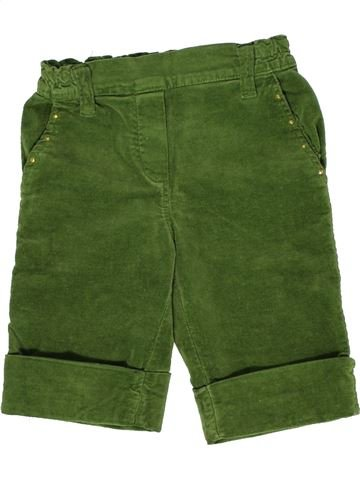 Pantalón corto niña KIXY KIT verde 3 años invierno #1277561_1
