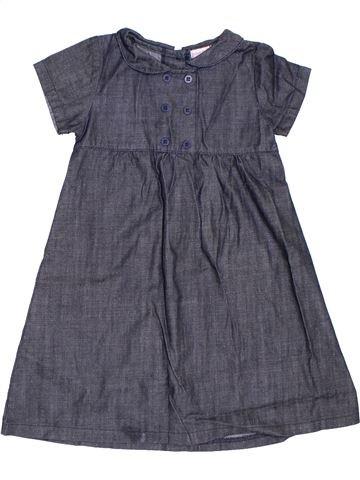 Robe fille GRAIN DE BLÉ bleu 3 ans été #1278260_1