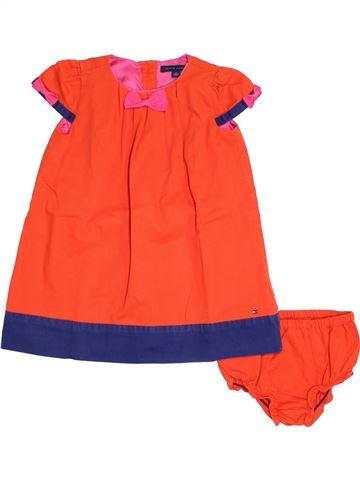 Robe fille TOMMY HILFIGER orange 3 ans été #1278744_1