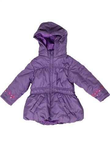 Abrigo niña KIKI & KOKO violeta 3 años invierno #1279026_1