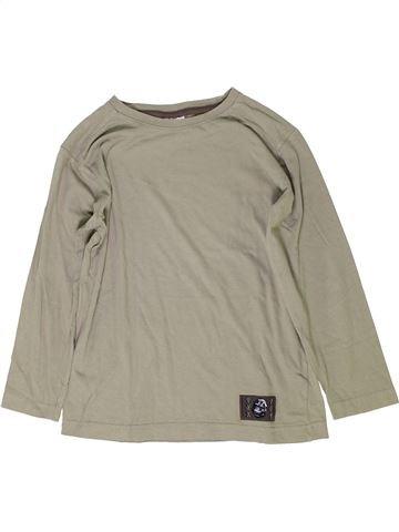 T-shirt manches longues garçon DOPODOPO gris 8 ans hiver #1279190_1