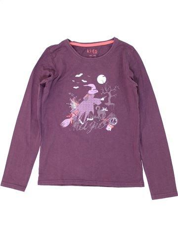 T-shirt manches longues fille KIDS violet 10 ans hiver #1279277_1