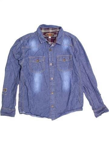 Chemise manches longues garçon URBAN 65 OUTLAWS violet 13 ans hiver #1279987_1