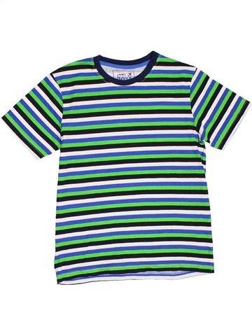 T-shirt manches courtes garçon PEP&CO bleu 11 ans été #1280659_1