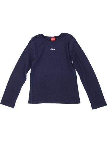 T-shirt manches longues fille S OLIVER bleu 7 ans hiver #1281297_1