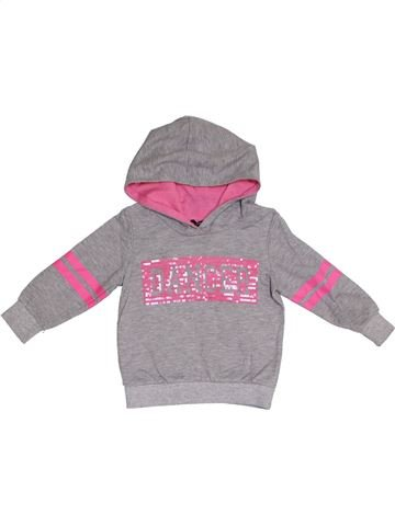 Sweat fille GEORGE gris 2 ans hiver #1281998_1