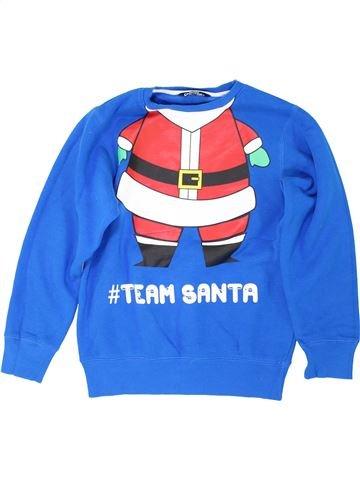 Sweat garçon MERRY CHRISTMAS bleu 11 ans hiver #1283103_1