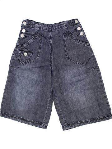 Pantalón corto niña TOUT COMPTE FAIT azul 4 años verano #1285050_1