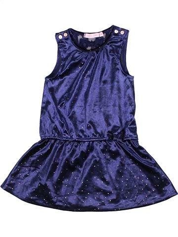 Robe fille GEMO bleu 2 ans hiver #1285235_1