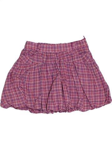 Falda niña OKAIDI violeta 5 años invierno #1285354_1