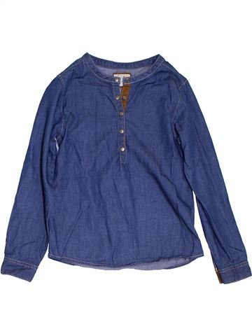 Blusa de manga larga niña LISA ROSE azul 8 años invierno #1285381_1