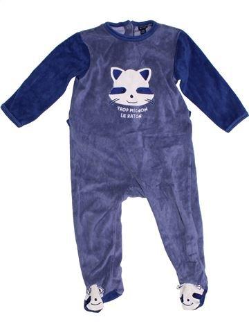 Pyjama 1 pièce garçon KIABI bleu 2 ans hiver #1285387_1