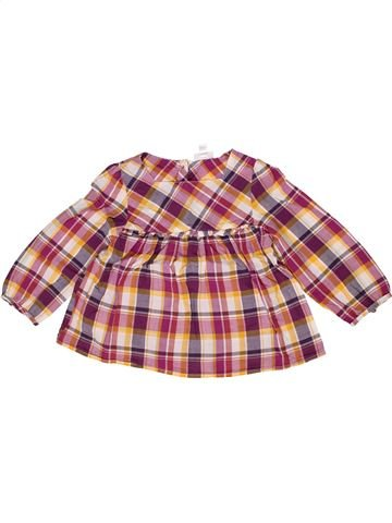 Blusa de manga larga niña VERTBAUDET rosa 3 años invierno #1285398_1