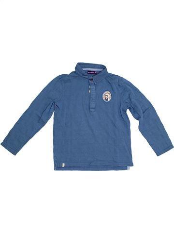 Polo manches longues garçon SERGENT MAJOR bleu 7 ans hiver #1285552_1