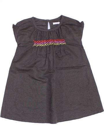 Vestido niña BOUT'CHOU marrón 2 años verano #1285811_1
