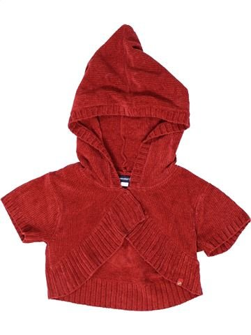 Gilet fille JEAN BOURGET rouge 8 ans hiver #1285847_1