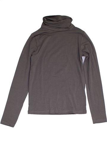 Camiseta de cuello alto unisex ALIVE gris 10 años invierno #1286122_1