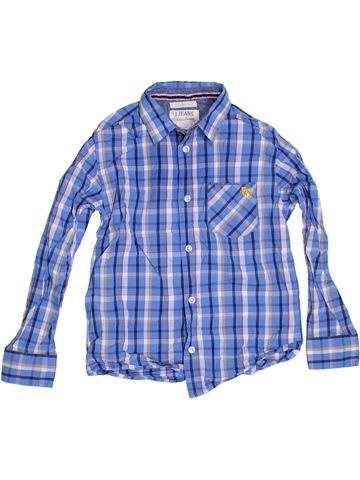 Chemise manches longues garçon JASPER CONRAN bleu 9 ans hiver #1286530_1