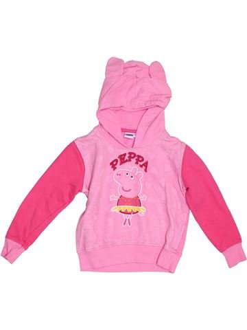 Sweat fille PEPPA PIG rose 5 ans hiver #1286587_1