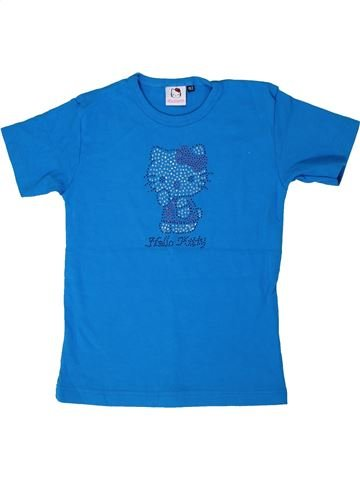 T-shirt manches courtes fille HELLO KITTY bleu 12 ans été #1287462_1