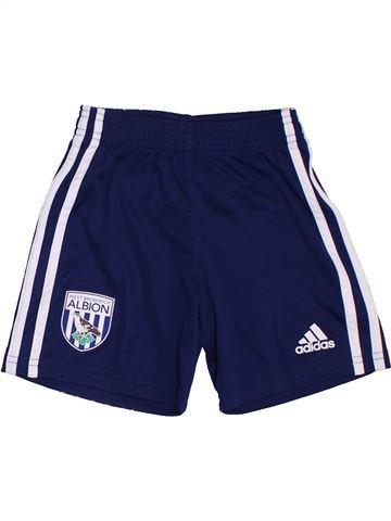 Pantalon corto deportivos niño ADIDAS azul 3 años verano #1287995_1
