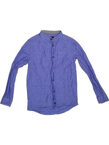 Chemise manches longues garçon RIVER ISLAND violet 8 ans hiver #1288788_1