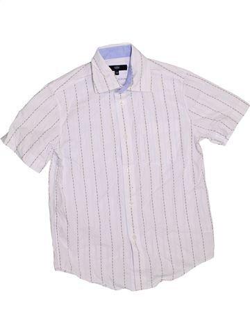 Camisa de manga corta niño JASPER CONRAN blanco 10 años verano #1289158_1