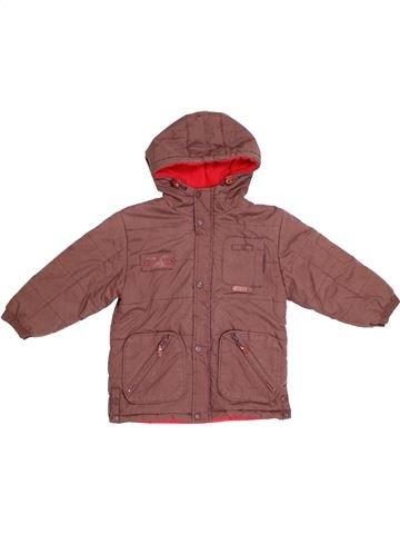 Abrigo niño DPAM marrón 4 años invierno #1290635_1