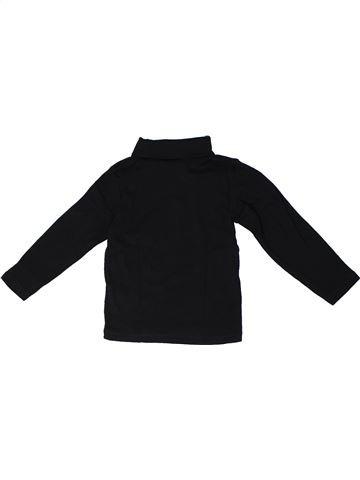 Camiseta de cuello alto niña H&M negro 4 años invierno #1293078_1