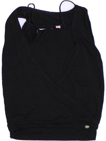 T-shirt sans manches fille TED BAKER noir 12 ans été #1293450_1