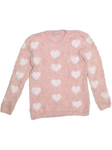 Pull fille I LOVE GIRLSWEAR rose 13 ans hiver #1293692_1