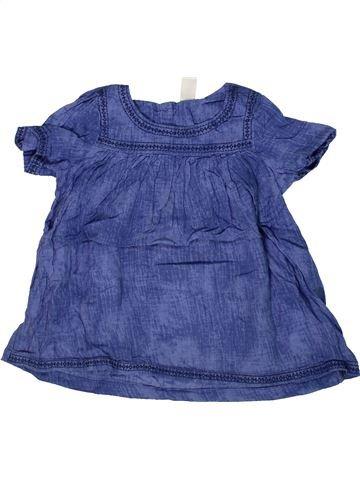 Blouse manches courtes fille OSH KOCH B'GOSH bleu 7 ans été #1293758_1