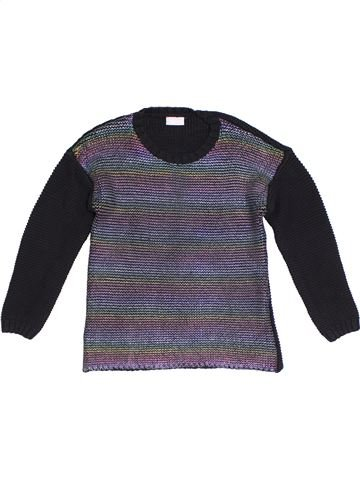 Pull fille I LOVE GIRLSWEAR gris 10 ans hiver #1294176_1