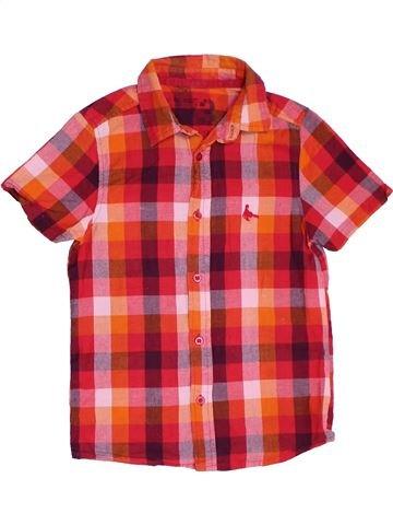 Chemise manches courtes garçon CHEROKEE rouge 9 ans été #1294495_1