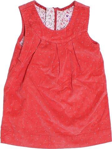 Vestido niña JOHN LEWIS rojo 2 años invierno #1294683_1