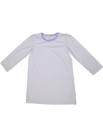 Pyjama 1 pièce fille GEORGE blanc 5 ans été #1295097_1