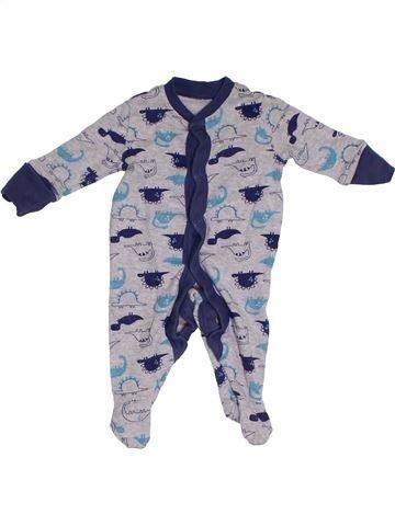 Pyjama 1 pièce garçon MATALAN bleu prématuré été #1295439_1
