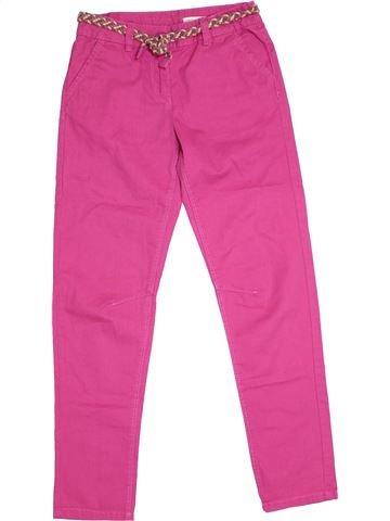 Pantalón niña VERTBAUDET rosa 10 años verano #1295735_1